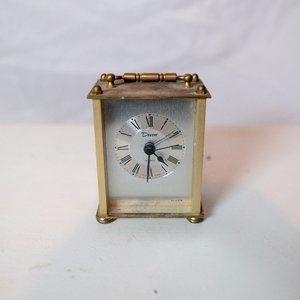 Vintage Brass Devon Clock ⏰ made in West Germany